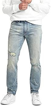 Gap Cone Denim Destructed Jeans in Slim Fit with GapFlex