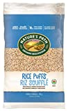 Nature's Path Rice Puffs Cereal, Healthy, Organic, Gluten-Free, Low-Sugar, 6 Ounce Bag (Pack of 12)