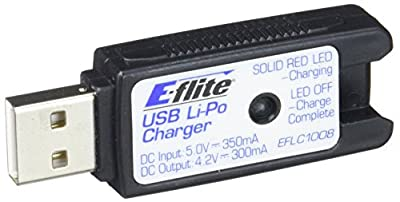 E-flite 1S USB Li-Po Charger 300mA