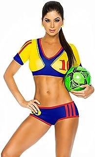 Wewoo Coupe d'europe du Monde Football Baby Cheerleader Uniformes Costume de Danse, Poitrine: 80-86cm, Taille: 75-80cm, Circonférence de la Hanche: 80-86cm ACH-618275 Circonférence de la Hanche: 80-86cm ACH-618275