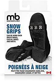 Moneysworth and Best Snow Grips, Black, One Size fits All
