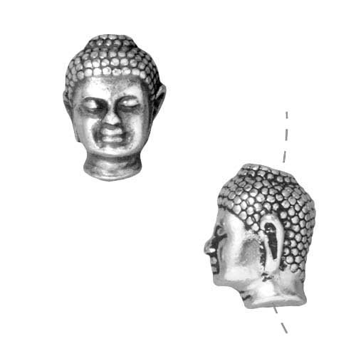Silver Plated Pewter Buddha 13 5mm product image