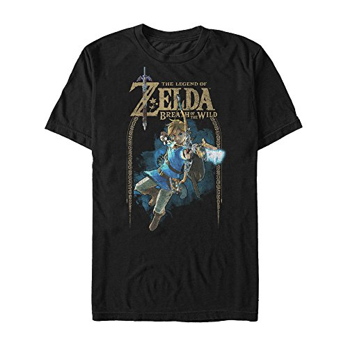Nintendo Legend of Zelda Breath of the Wild Arch Mens (Man Legend T-shirt)