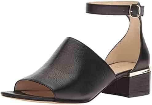 Nine West Women's Yorada Leather Dress Sandal