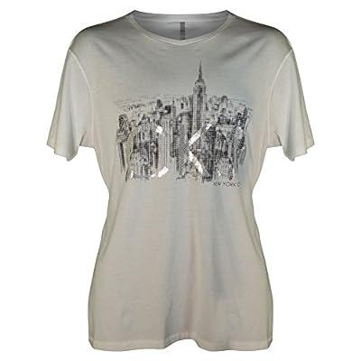Calvin Klein Jeans Men's Cityscape Pixelated Logo-Graphic T-Shirt