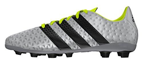 adidas Ace 16.4 Fxg J, Botas de Fútbol para Niños Plata (Plamet / Negbas / Amasol)