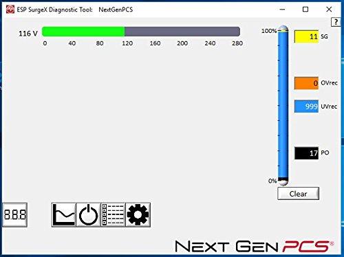 ESP Next Gen Surge Protector/Noise Filter/Power Monitor, (Model # XG-PCS-20D) - 120 Volt, 20 Amp with NEMA 5-20 Connectors by ESP (Image #6)