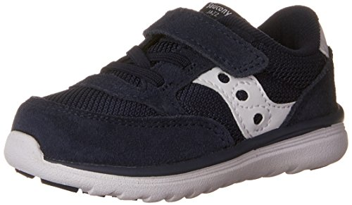 Saucony Baby Jazz Lite Sneaker (Toddler/Little Kid/Big Kid), Navy/White, 11.5 M US Little Kid
