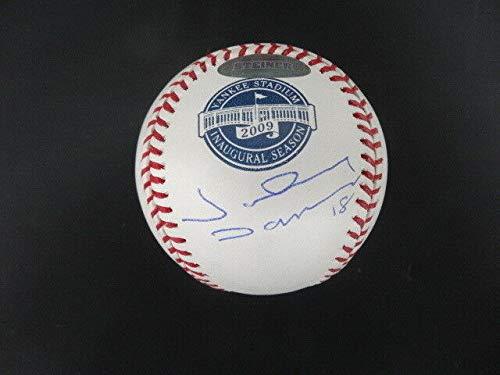 Johnny Damon Autographed Signed Memorabilia Inaugural Yankee Stadium Baseball Autograph Auto Steiner - Certified Authentic