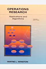 Operations Research: Applications and Algorithms Hardcover