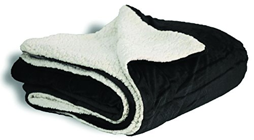 Faux Micro Mink Sherpa Blanket with Reversible Soft Lamb Woo