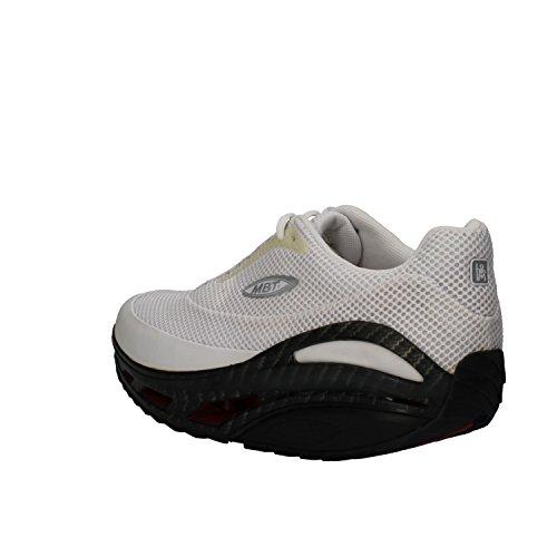 MBT Sneakers Hombre 42 EU Blanco Textil Cuero