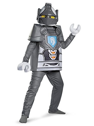 Lego Knight Costume (Lance Deluxe Nexo Knights Lego Costume,)