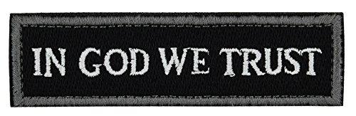 ArcEnCiel Tactical Patch – In GOD We Trust (Black)