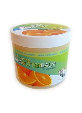The Original CJ's BUTTer® All Natural Shea Butter Balm - Sweet Orange, 12 oz. Tub by CJ's Butter