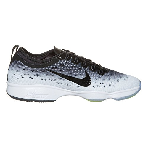 Dark Black Black Zoom pied de chaussure Fit à Agility Women's HO14 Grey White course Nike PwxqFpp