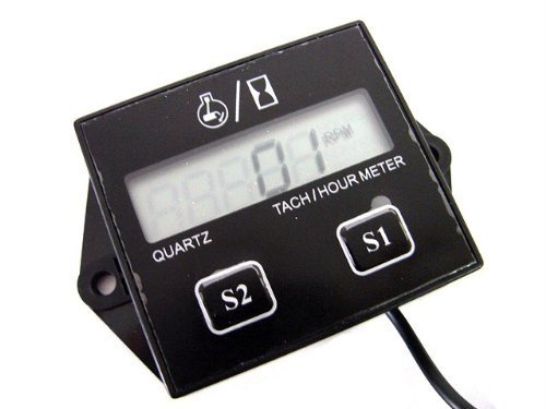 Honda Atv Hour Meter : Gxg digital hour meter tachometer tach tacho for