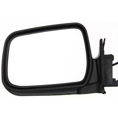 MAPM Premium Left/Driver Side Non-Towing Mirror Power Operated Non-Heated Manual Folding Paint to Match For Nissan Frontier 1998-2004, Xterra 2000-2004 - NI1320140