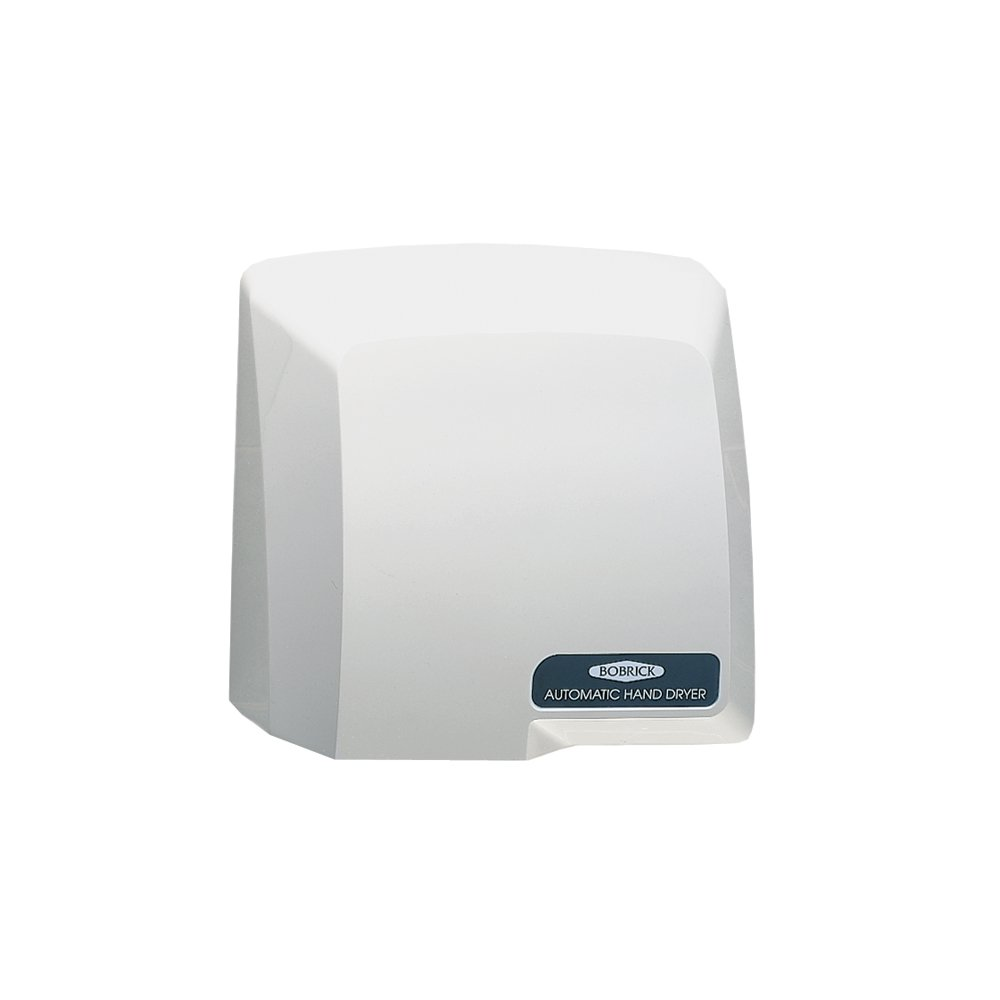 Bobrick B-710 115V Surface-Mounted Compac Automatic Hand Dryer, Grey