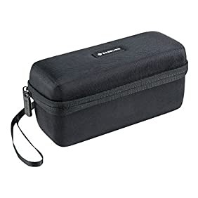 Caseling Hard Case Travel Bag for Bose Soundlink Mini / Mini 2 Bluetooth Portable Wireless Speaker - Fits the Wall Charger, Charging Cradle. Fits with the Bose Silicone Soft Cover.