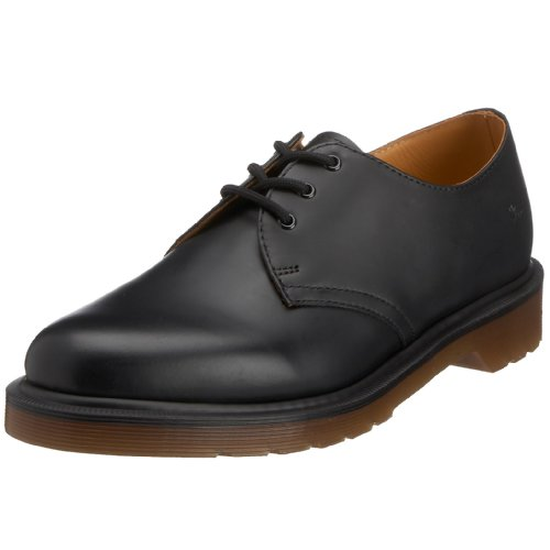 voksen Smooth up Black Dr Svart Glatt Blonder 1461 Martens up adult 1461 Lace Dr Martens Unisex Unisex 7gxqfgC