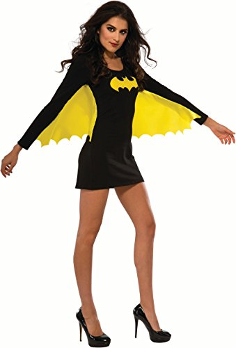 [Rubie's Costume Co Women's DC Superheroes Batgirl Wing Dress, Multi, Large] (Halloween Costumes For The Family)