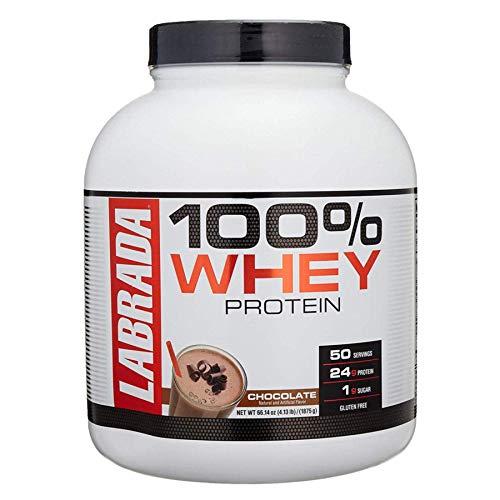 Labrada 100% Whey Protein – 4.13 lbs (1875 g) (Chocolate)