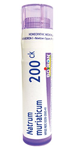 Boiron Natrum Muriaticum 200ck, Homeopathic Medicine Runny Nose Homeopathic Remedy Runny Nose