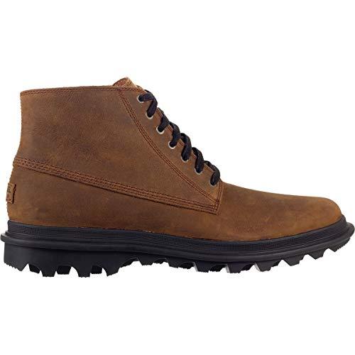 (Sorel Mens Ace Chukka Waterproof Boot, Umber/Black, Size 10)