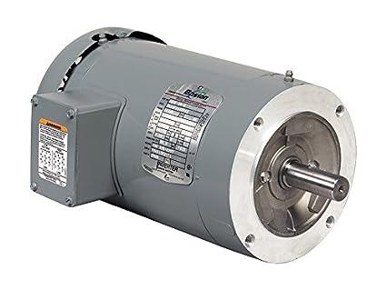 Boston Gear ERTF AC Motor, TEFC (Totally Enclosed Fan Cooled ... on