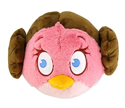 Angry Birds Star Wars 5 Plush - Leia from Angry Birds Star Wars