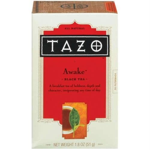 Tazo Black Tea, Awake - 20 bags