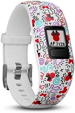 Garmin Vívofit Jr. 2 - Monitor de actividad para niños, Minnie Mouse (Banda ajustable), Edad 6+