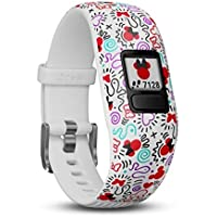 Garmin vívofit Jr. 2 - Adjustable Minnie Mouse - Activity Tracker for Kids, 010-01909-10