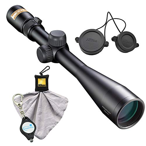 Nikon Prostaff Rimfire II 4-12X40 Rifle Scope BDC 150, Matte Bundle with a Cleaning Cloth and Lumintrail Keychain Light (Nikon Prostaff Riflescope 4 12x40 Matte Bdc)
