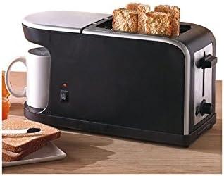 Compuesto tostadora cafetera 2 en 1 – 900 W: Amazon.es: Hogar