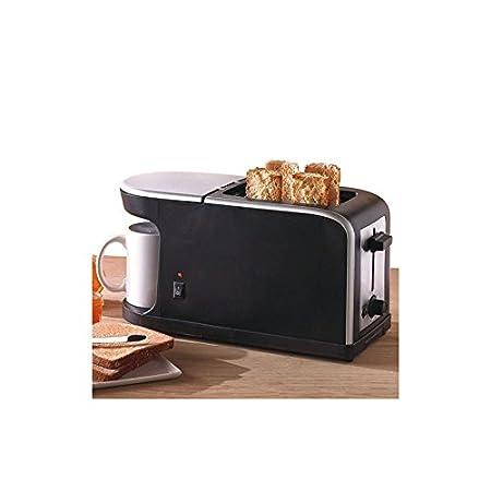 Compuesto tostadora cafetera 2 en 1 - 900 W: Amazon.es: Hogar