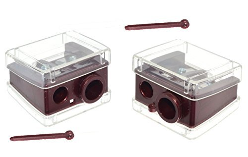 Trim Deluxe Lip & Eye Pencil Sharpener. 2-pack ()