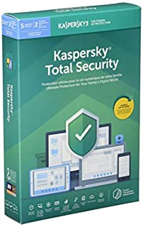 Kaspersky Labs Kaspersky Total Security 5 User 1 Year 2019 (B07JC5KNVQ) | Amazon Products