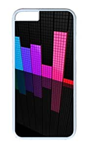 iPhone 6 Plus Case Color Works Abstraction Equalizer White PC Hard Case For Apple iPhone 6 Plus 5.5 Inch Phone Case