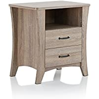 ACME Furniture 97262 Colt Nightstand, Rustic Natural, One Size