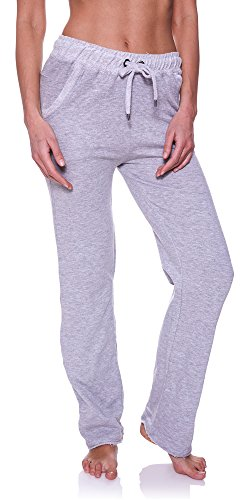 N.Y.L. New York Laundry Women's Frayed Ankle Pockets Drawstring Workout Jogger Sweatpants Light Grey Heather - In White Ny Plains Stores