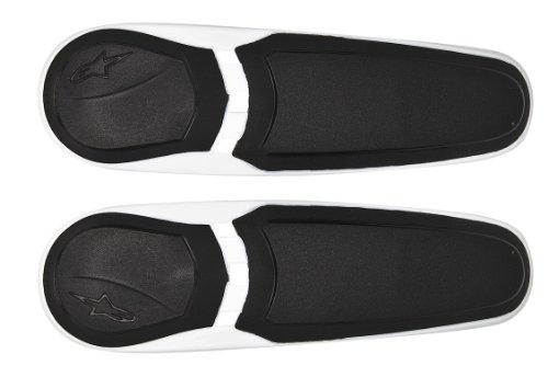 [해외] alpinestars(알파인 스타의)tooth 라이더 화이트/블랙 S-MX플러스13년 모델용