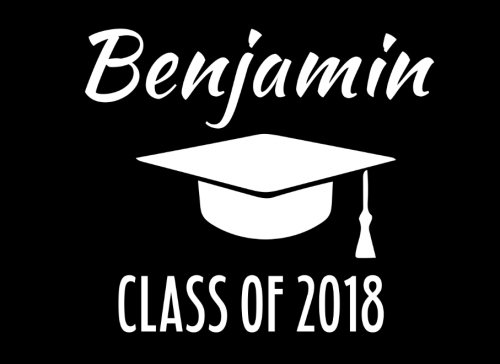 Download Benjamin Class Of 2018: Graduation Cap Guest Book For Party, Personalized Gift. Graduate Advice or Autograph Book. (Tassel Zone) pdf