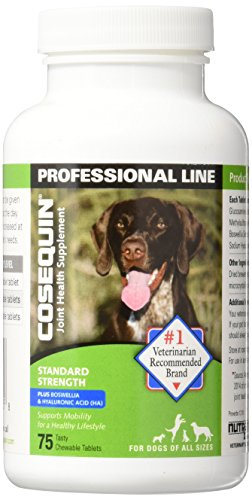 Cosequin Standard Strength Plus Chewable Bonelets 75 tasty chewable tablets (Best Rated Long Term Care Insurance)