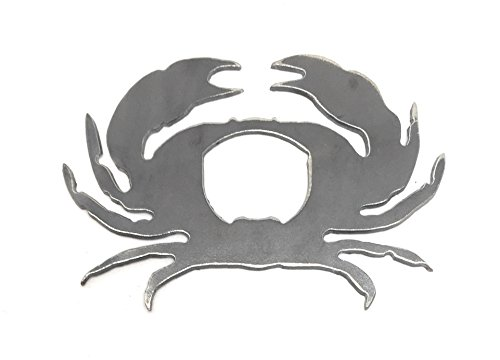 Handcrafted Rustic Blue Crab Ocean Sea Beach Bottle Opener Made in the USA