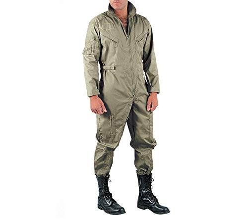 Rothco Coveralls Olive Drab Air Force Style Flight Suit 7500 ()