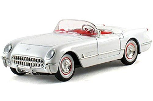 Signature Models 1953 Chevy Corvette Convertible, White 32429 - 1/32 Scale Diecast Model Toy Car