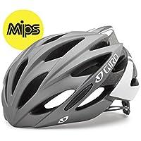 Giro Savant MIPS Helmet (Matte Titanium/White, Large (59-63 cm))
