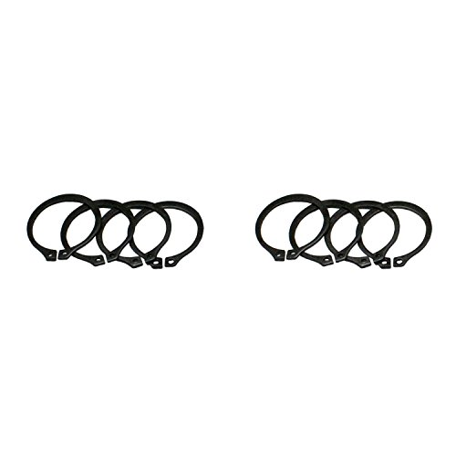 (Yukon Gear & Axle (YP SJ-297X-501) Full Circle Snap Rings (4), Fit 297X U-Joint With Aftermarket Axle.)